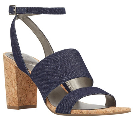 Bandolino Open Toe Sandals - Anchor