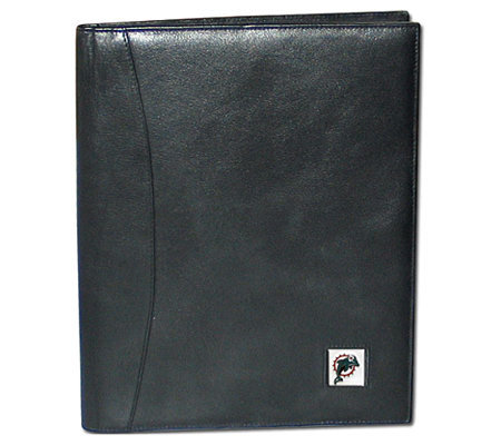 NFL Miami Dolphins Leather Portfolio