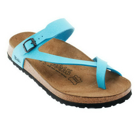 Birki's by Birkenstock Lennox Patina Finish Sandals