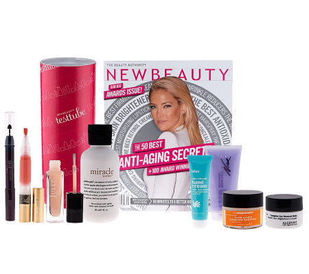 New Beauty 9-Piece Test Tube with Magazine