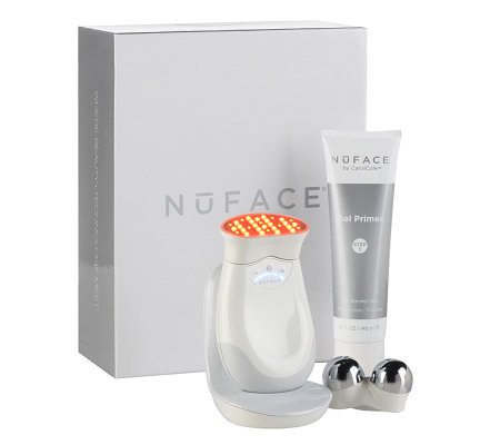 NuFACE Trinity At-Home Microcurrent & LED Wrinkle Reducer Device