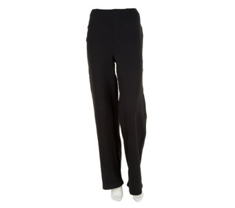Liz Claiborne New York Petite Ponte Knit Trousers - A240839