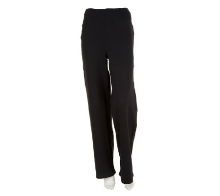 Liz Claiborne New York Petite Ponte Knit Trousers