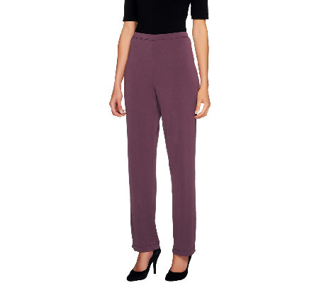 George Simonton Tall Slim Leg Crystal Knit Pants