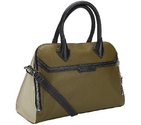 Aimee Kestenberg Mina Pebbled Leather Satchel