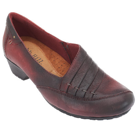"""As Is"" Cobb Hill by New Balance Leather Slip-on Shoes - Giada"