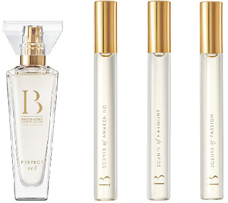 Biography Scents of Self 4 pc Fragrance Collection by Sarah Horowitz