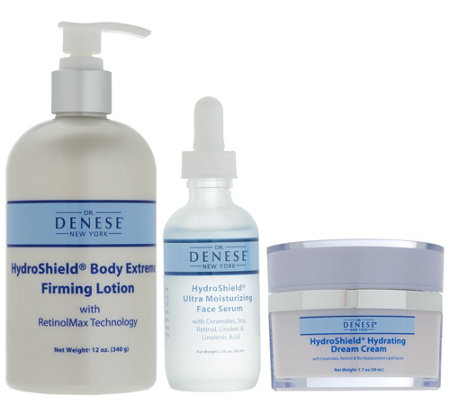 Dr. Denese Hydroshield 3 Piece System for Face & Body
