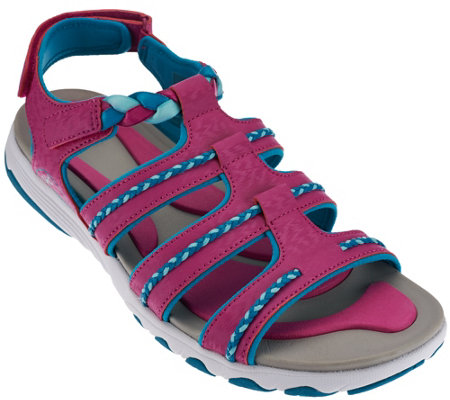 Ryka Braided Fisherman Sandals - Damsel