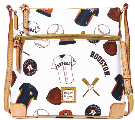 Dooney & Bourke MLB Astros Crossbody