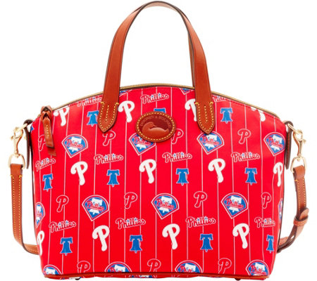 Dooney & Bourke MLB Nylon Phillies Small Satchel
