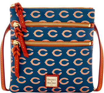 Dooney & Bourke NFL Bears Triple Zip Crossbody - A285639