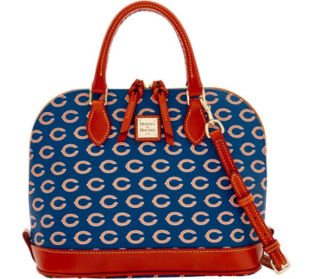 Dooney & Bourke NFL Bears Zip zip Satchel
