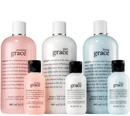philosophy 6-piece state of grace shower gel set Auto-Delivery