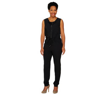 """As Is"" View by Walter Baker Petite Sleeveless Jumpsuit - A287239"