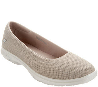Skechers GO STEP Mesh Ballet Slip-On Shoes - Luxe - A289139