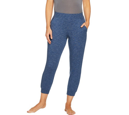 AnyBody Loungewear Cozy Knit French Terry Jogger Pants