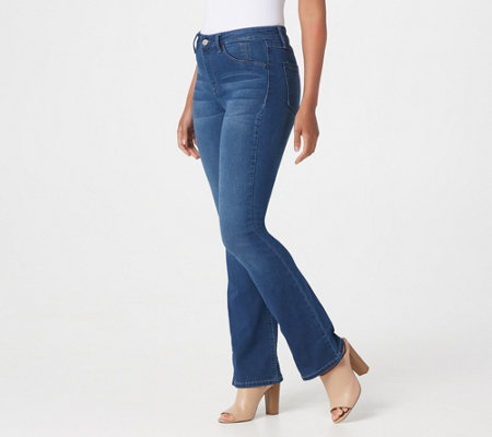 Laurie Felt Regular Silky Denim Boot Cut Pull-On Jeans
