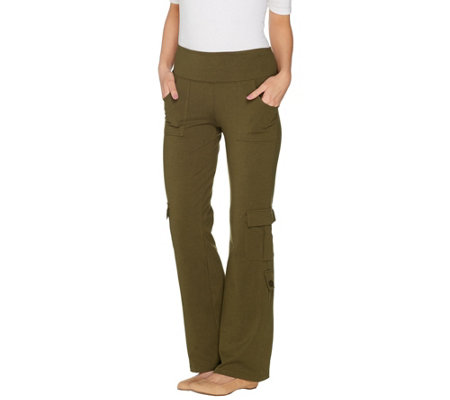 Wicked by Women with Control Petite Cargo Bootcut Pants