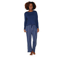 Cuddl Duds Softwear with Stretch Pajama Set - A302339