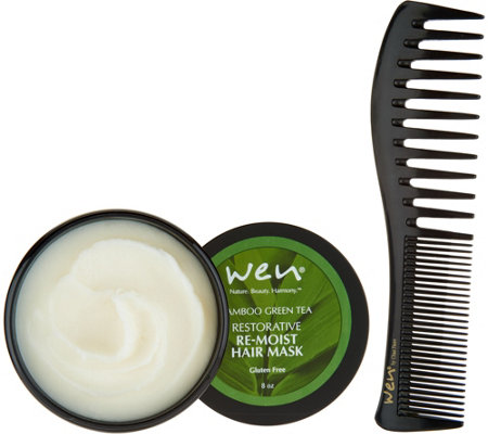 WEN by Chaz Dean 8 oz Rice Re-Moist Mask