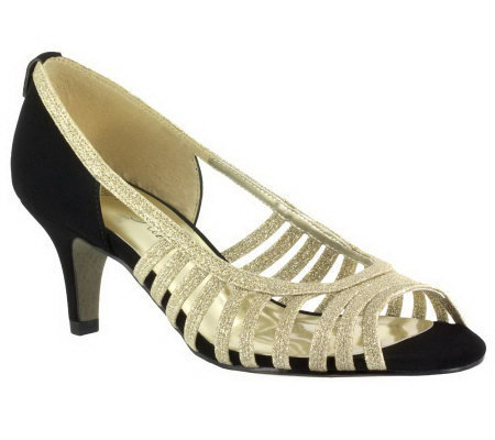 Easy Street Sparkle Evening Shoes