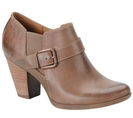 Sofft Nell Leather Ankle Boots
