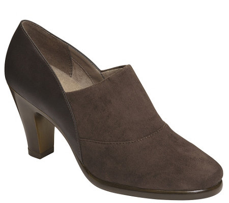 Aerosoles Heel Rest Slip-on Booties - Congress