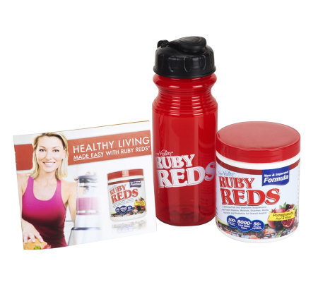 Ruby Reds by New Vitality Fruit and Vegetable Supplement