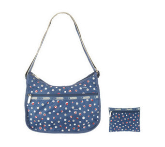 LeSportsac Printed Nylon Classic Hobo with Pouch - A233240