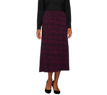 Linea by Louis Dell'Olio Regular Marled Knit Maxi Skirt - A236140