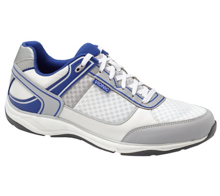 Vionic Orthotic Men's Lace-up Sneakers - Endurance