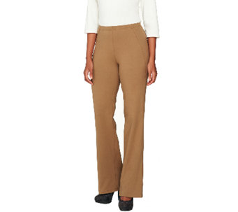 Women with Control Tall Boot Cut Pants with Side Seam - A256840