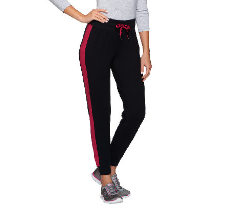 cee bee CHERYL BURKE French Terry Jogger Pants