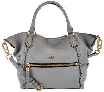 orYANY Pebble Leather Satchel - Drew - A272940