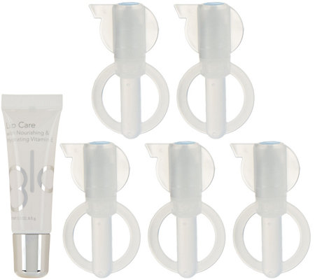 GLO Science GLO Brilliant Teeth Whitening G-Vials with Lip Care