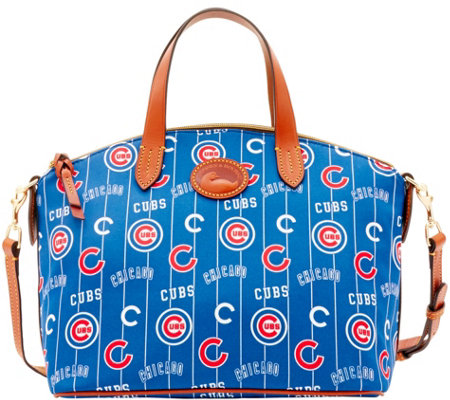 Dooney & Bourke MLB Nylon Cubs Small Satchel