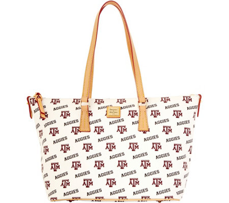 Dooney & Bourke NCAA Texas A&M University Zip Top Shopper