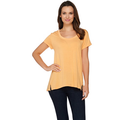"""As Is"" H by Halston Essentials Scoop Neck Knit Top"