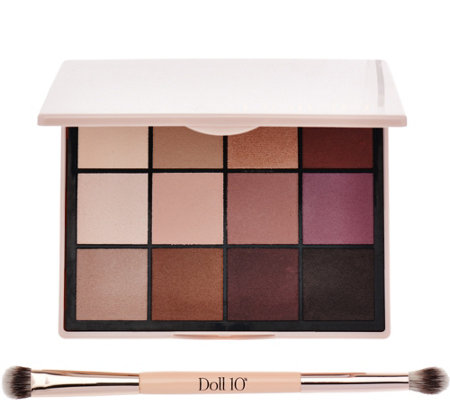 Doll 10 Pro Eyeshadow Palette w/ Brush