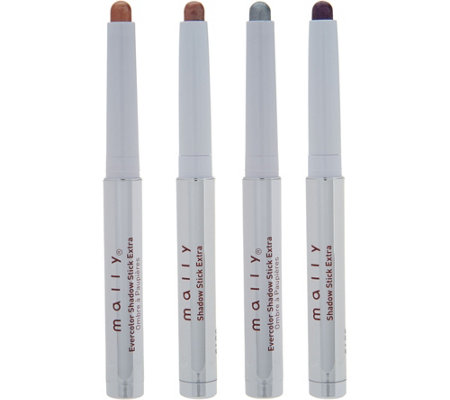 Mally Evercolor Long Wear Shadow Stick Extra 4pc Collection