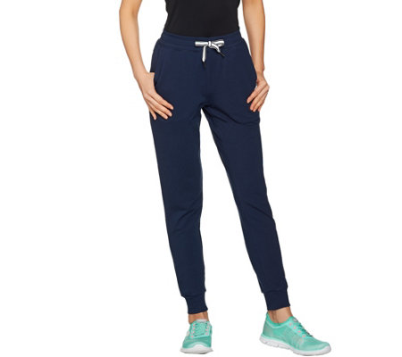 cee bee CHERYL BURKE Regular French Terry Jogger Pants