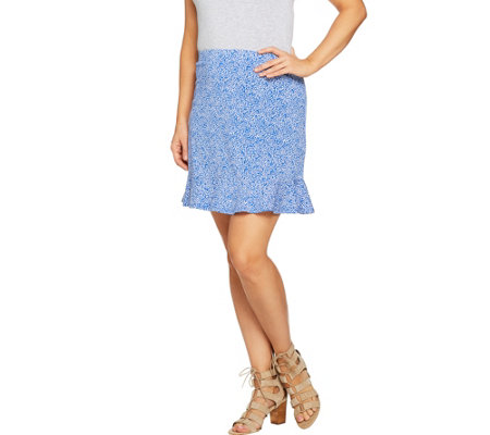 Susan Graver Weekend Stretch Cotton Modal Skort