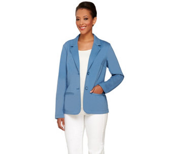 """As Is"" Liz Claiborne New York Blazer with Pockets - A291440"
