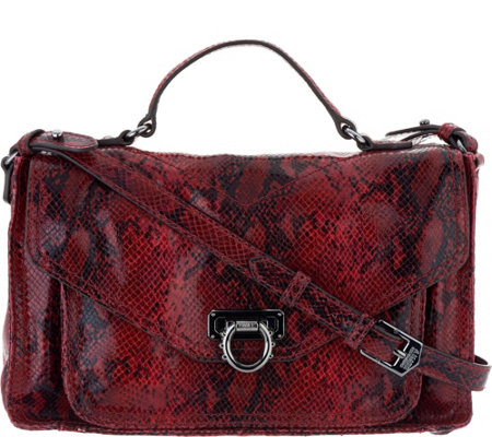 Aimee Kestenberg Leather Convertible Messenger Bag