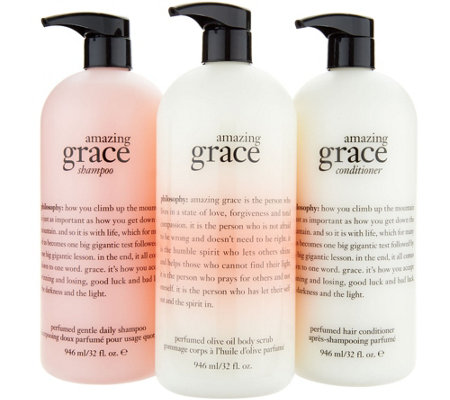 philosophy super-size grace & love head to toe fragrance trio