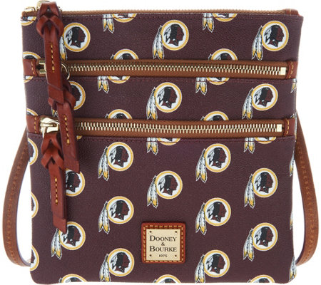 Dooney & Bourke NFL Redskins Triple Zip Crossbody