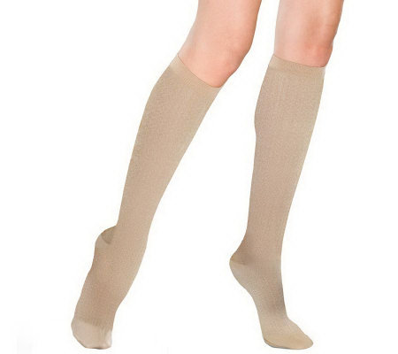 GOGO French Twist-Pattern Trouser Socks
