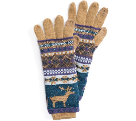 MUK LUKS Women's Multi 3-in-1 Gloves