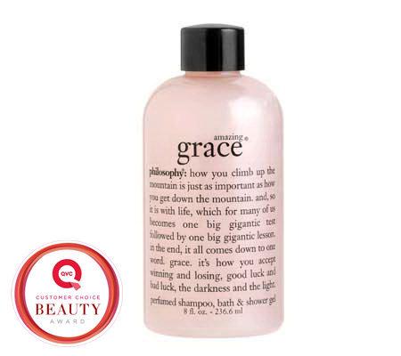 philosophy amazing grace shampoo bath amp shower gel philosophy amazing grace shampoo bath amp shower gel qvc com